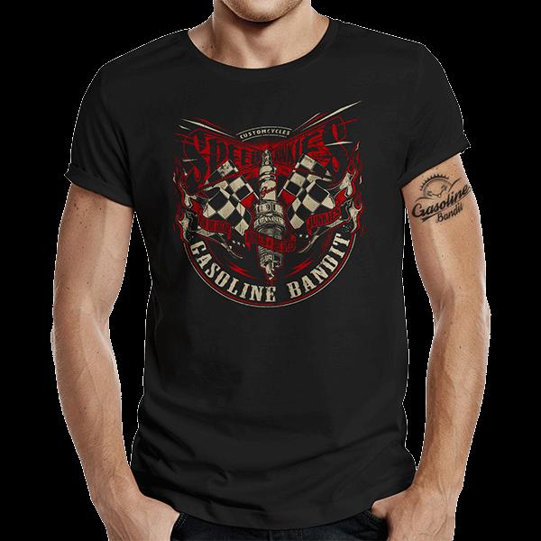 """T-Shirt """"Speed Junkies"""" von Gasoline Bandit"""