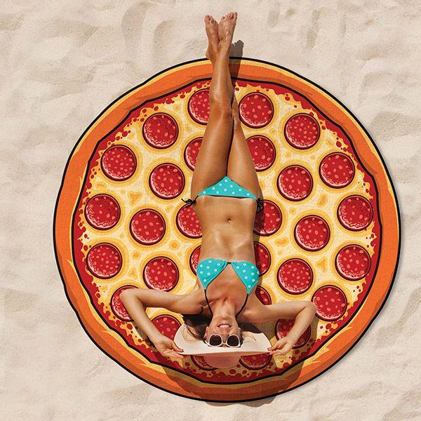 "Strandtuch ""Pizza"""