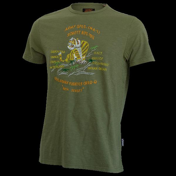 """T-Shirt """"USS Strike Fighter"""" von Schott NYC"""