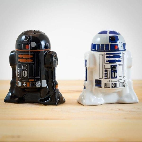 Star Wars Salz- und Pfefferstreuer R2-D2 und R2-Q5