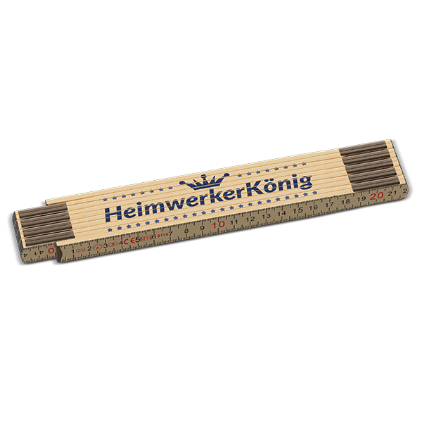 """Zollstock """"Heimwerkerkönig"""""""