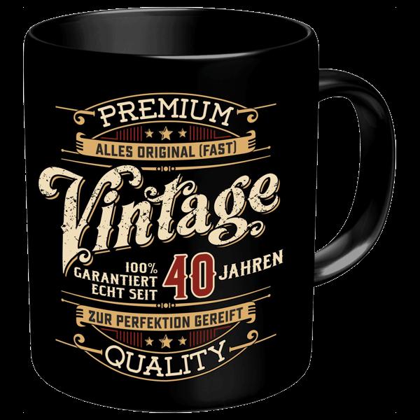 """Tasse """"Vintage"""" 40"""