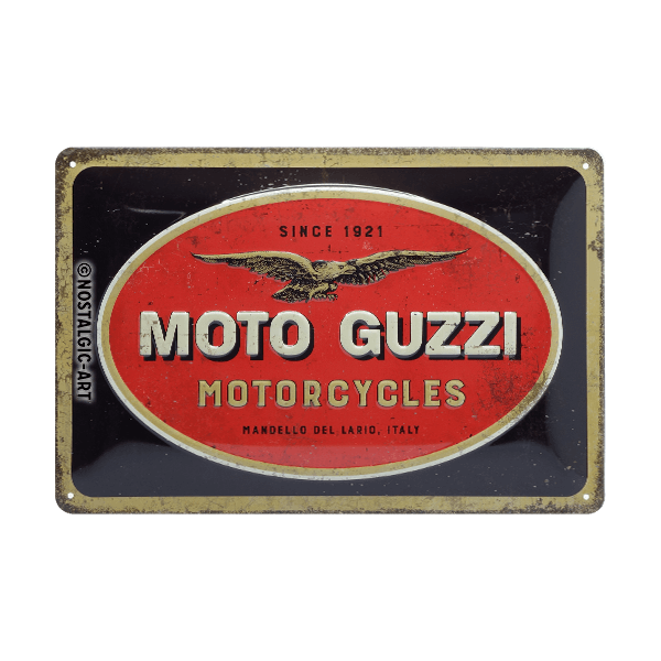 """Blechschild """"Moto Guzzi"""""""