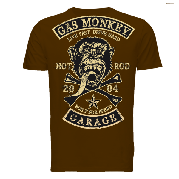 "Gas Monkey Garage T-Shirt ""Patch"""