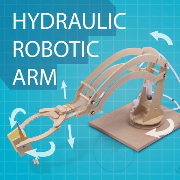 Bausatz – Hydraulischer Roboterarm