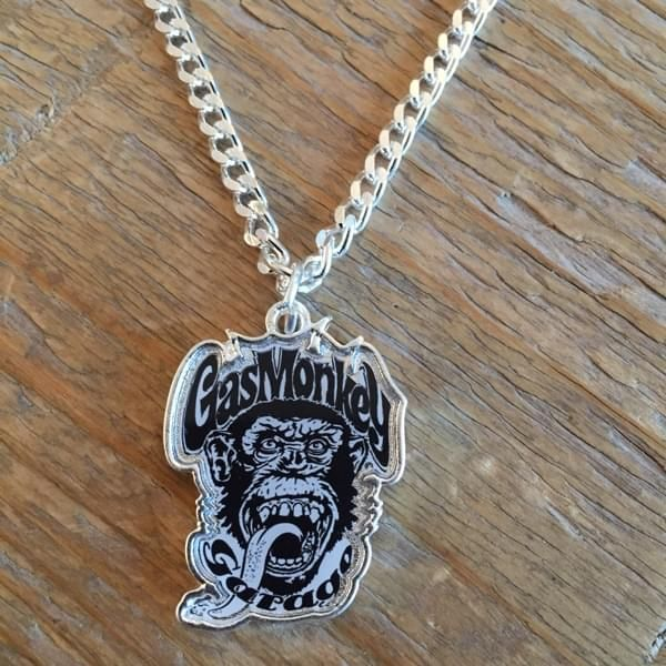 "Gas Monkey Garage Halskette ""Monkey Head"""