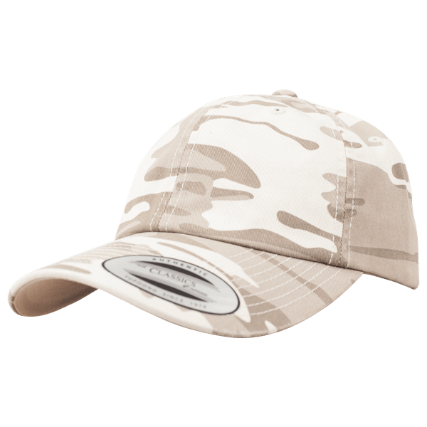 "Low Profile Baseball Cap ""Camo Washed"""