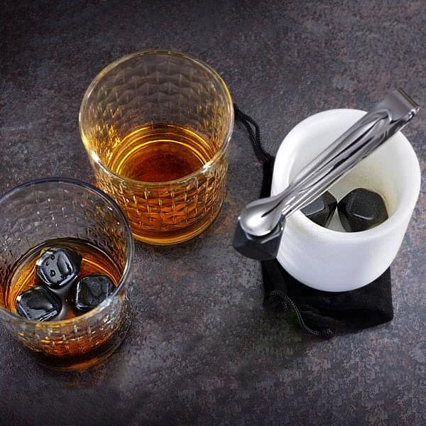 9-teiliges Whiskey-Kühlsteine Geschenkset
