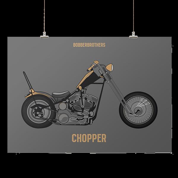 """Kunstdruck """"Chopper"""" von Bobber Brothers"""