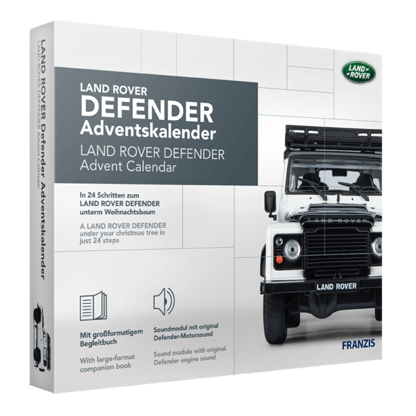 Land Rover Defender Adventskalender