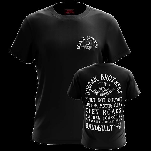 """T-Shirt """"Handbuilt"""" von Bobber Brothers"""