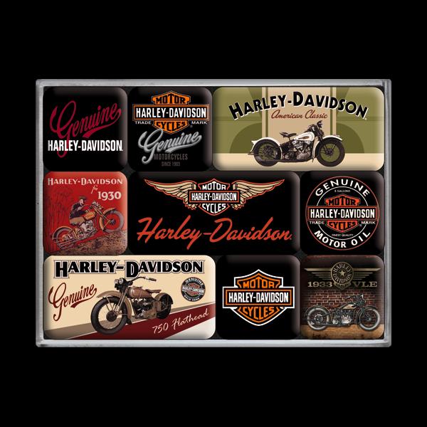 """Magnet-Sets """"Harley-Davidson"""""""