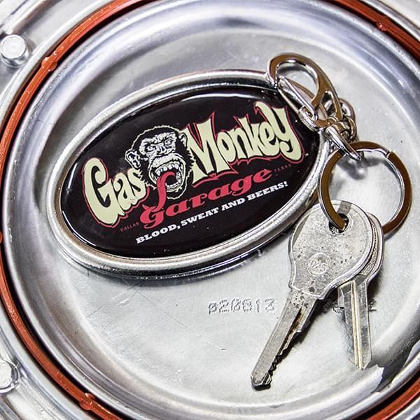 """Gas Monkey Garage Schlüsselanhänger """"Mulitcolor"""""""