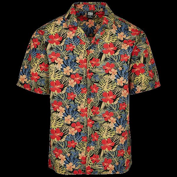 """Beach Shirt """"Tropical"""" von Urban Classics"""