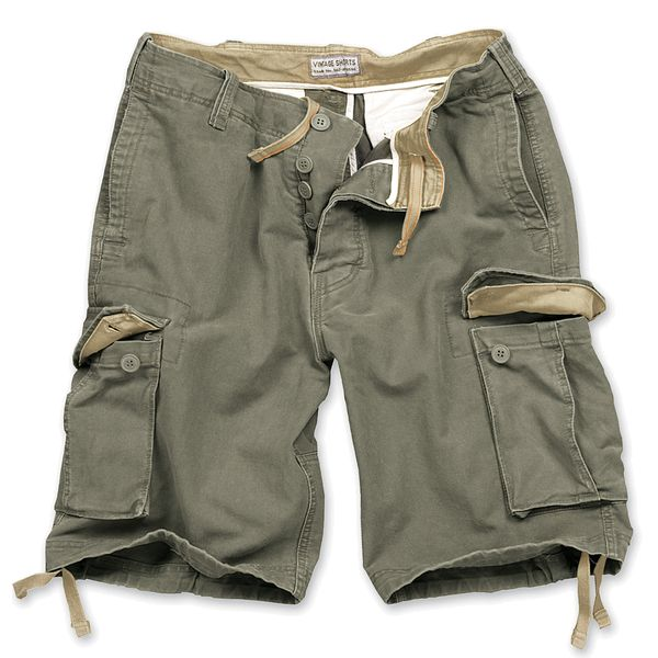 Shorts im Vintage Army-Style