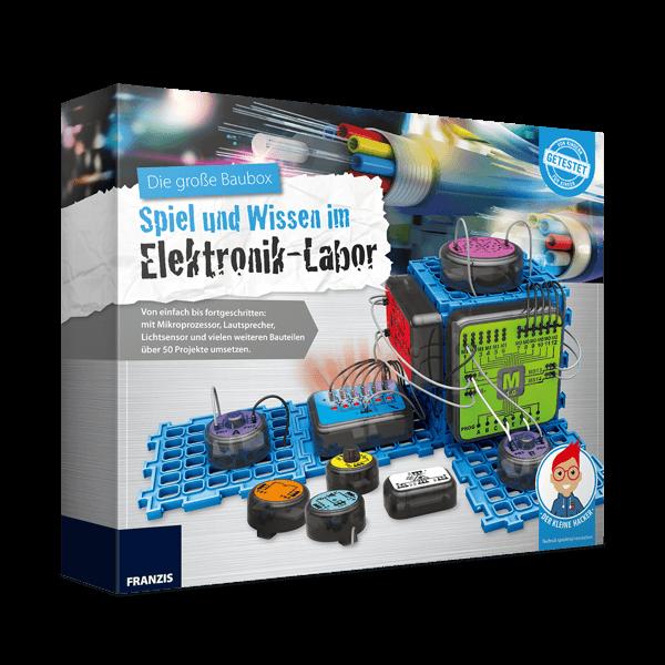"""Die große Baubox """"Elektronik-Labor"""""""