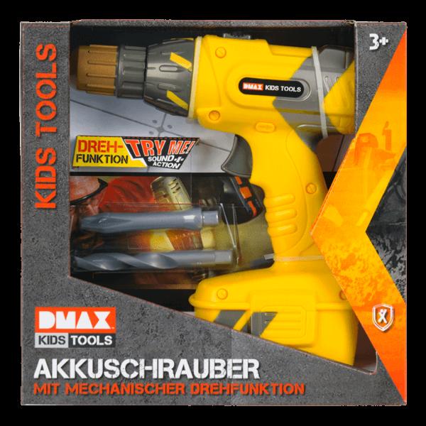 DMAX Kids Tools Akkuschrauber
