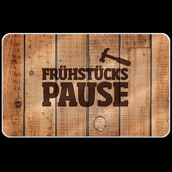 "Frühstücksbrett ""Pause"""