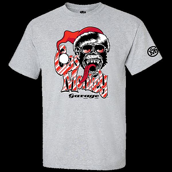 "Gas Monkey Garage X-Mas T-Shirt ""Candy Cane"""