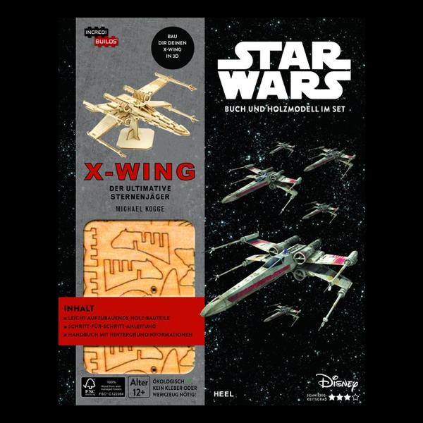 Bausatz und Buch: X-Wing – Der ultimative Sternjäger