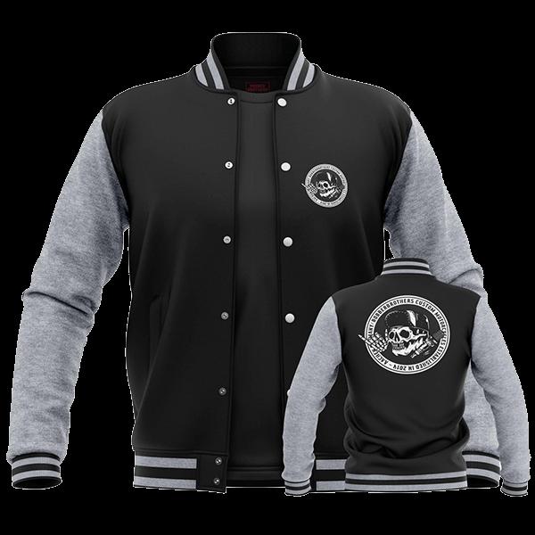 """College Jacke """"Round Logo"""" von Bobber Brothers"""