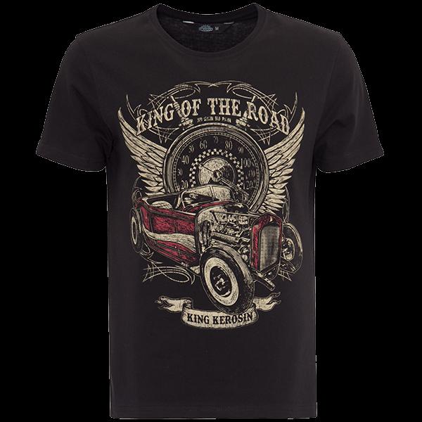 "King Kerosin T-Shirt ""King of the Road"""