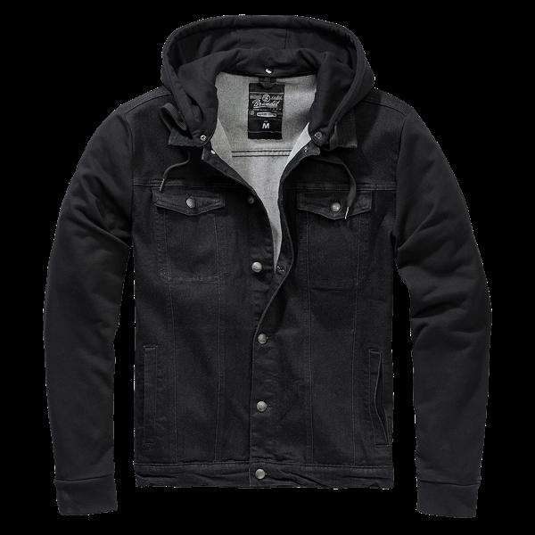 """Denim Sweater Jacke """"Cradock"""" von Brandit"""
