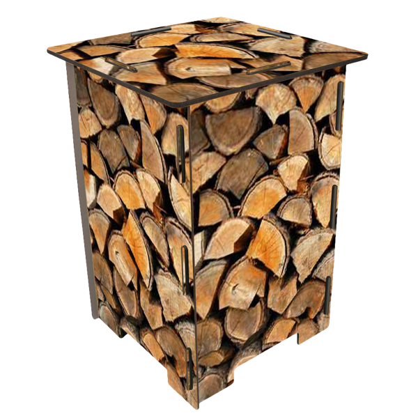 "Hocker ""Holzstapel"""