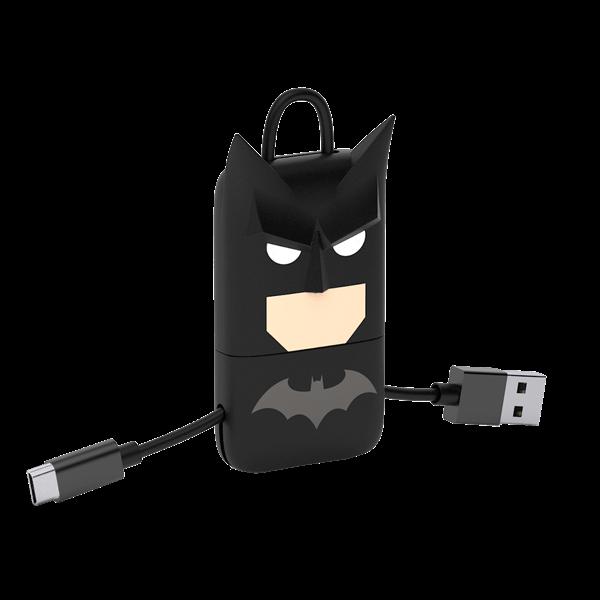 """Schlüsselanhänger mit Ladekabel """"Batman"""""""