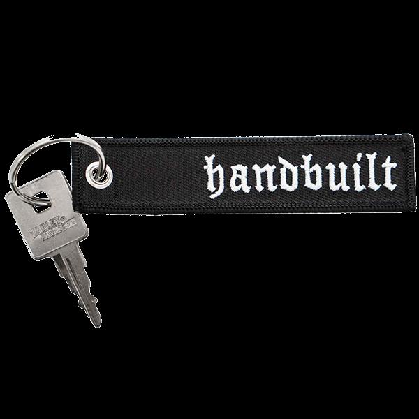 """Schlüsselanhänger """"Handbuilt"""" von Bobber Brothers"""