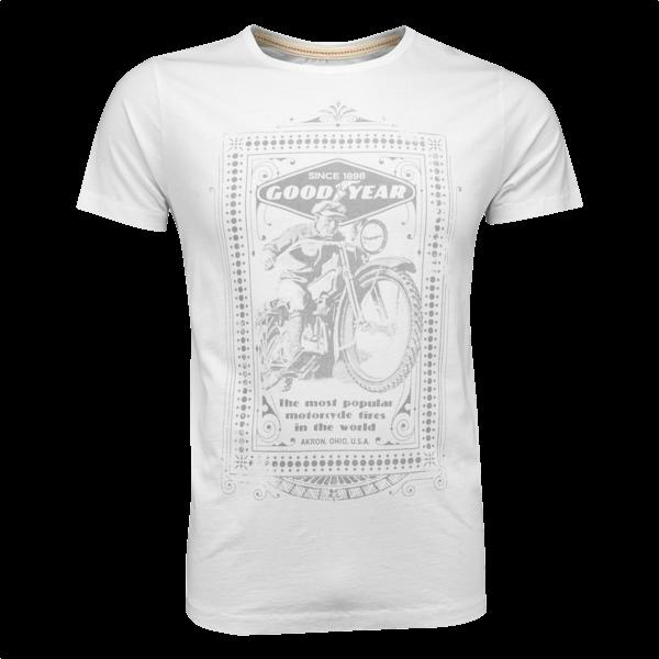 "Goodyear T-Shirt ""Motorcycle"" (Größe XXL)"