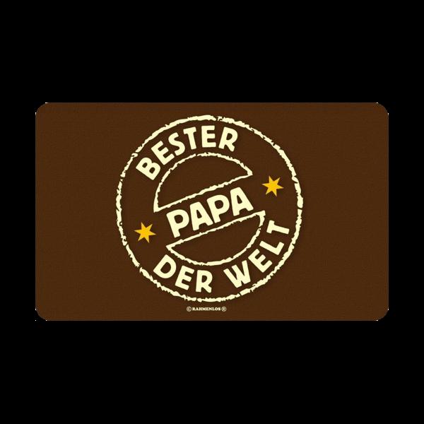 """Frühstücksbrett """"Bester Papa der Welt"""""""