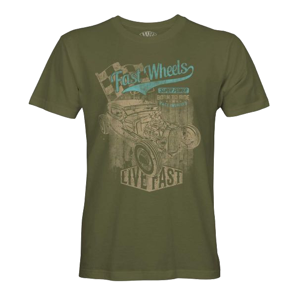"T-Shirt ""Fast Wheels"""