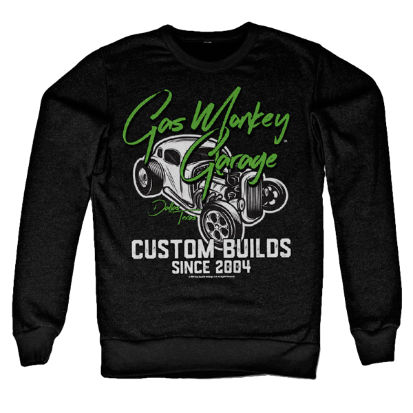 "Gas Monkey Garage Sweatshirt ""Custom Neon"""