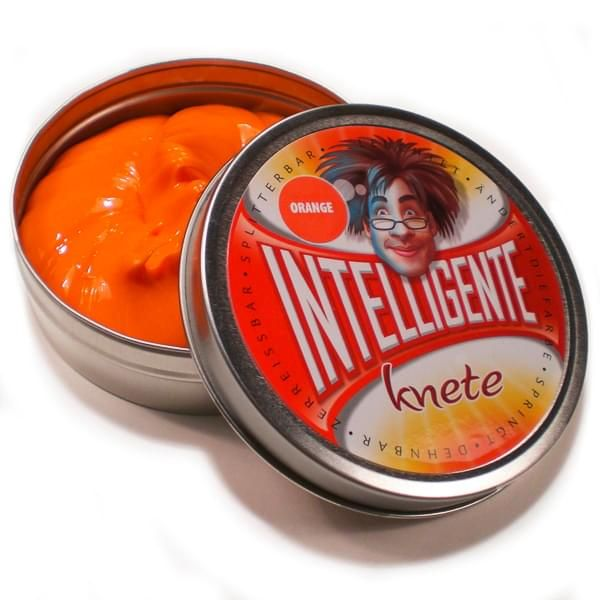 """Intelligente Knete """"Orange"""""""