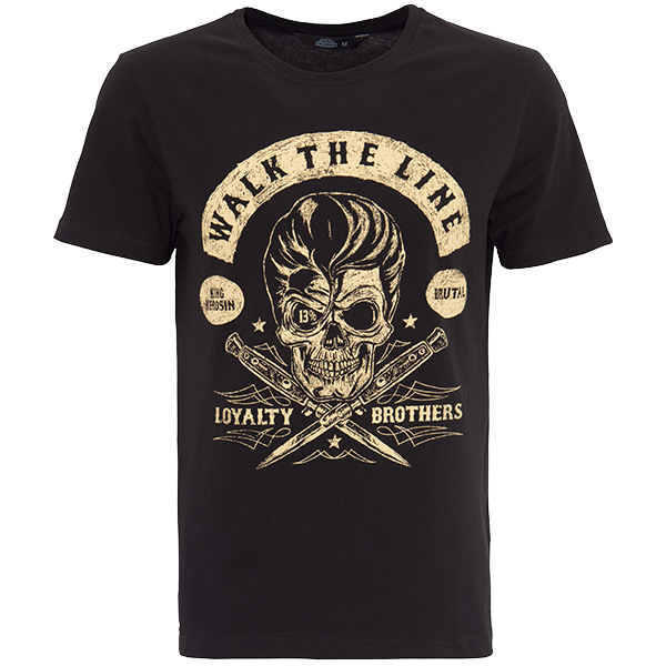 "King Kerosin T-Shirt ""Walk the Line"""
