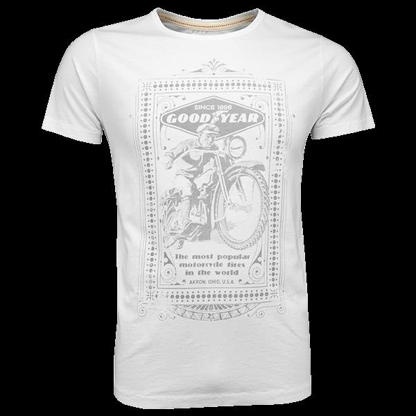 "Goodyear T-Shirt ""Motorcycle"""