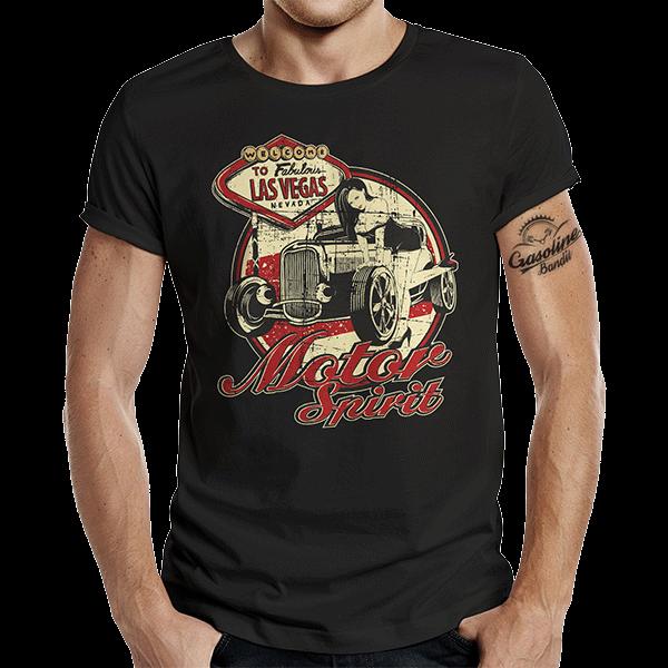 """T-Shirt """"Motor Spirit"""" von Gasoline Bandit"""