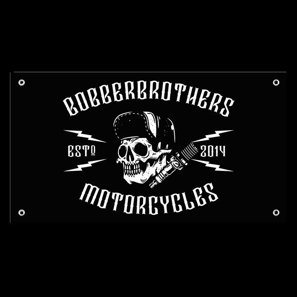 Vinyl-Banner von Bobber Brothers