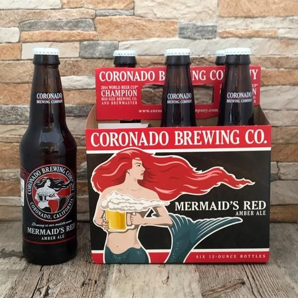 "Bier-Sixpack ""Mermaid's Red Amber Ale"""