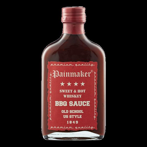 BBQ Sauce Sweet & Hot mit Moonshine Whiskey