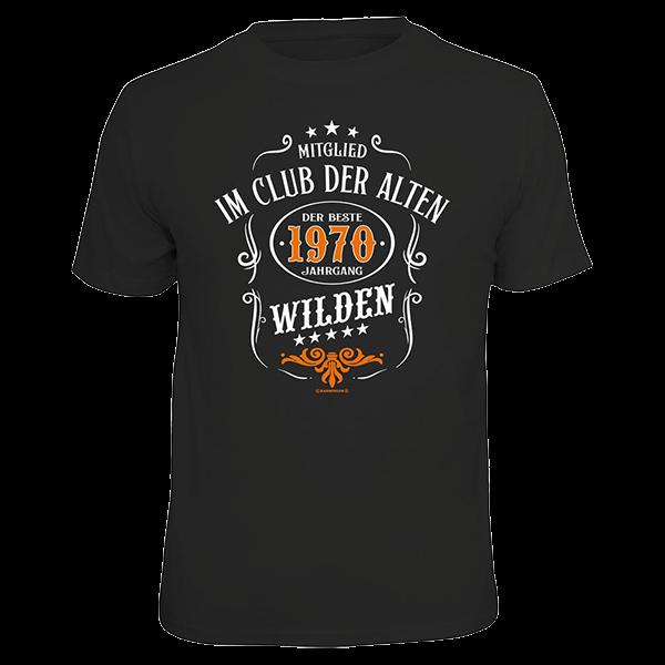 """T-Shirt """"1970 - der beste Jahrgang"""""""