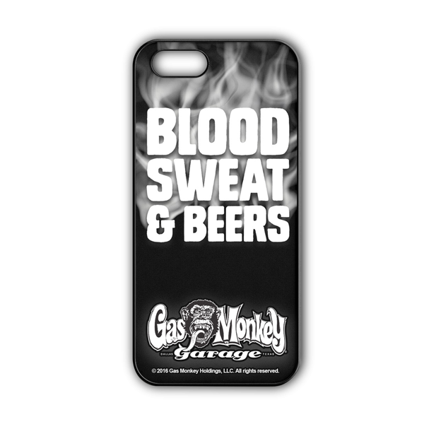 "Gas Monkey Garage iPhone Cover ""Blood, Sweat & Beers"""