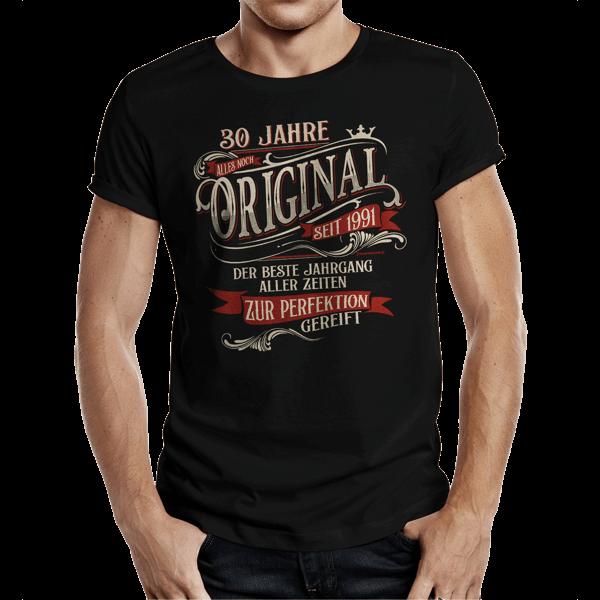 "T-Shirt ""Perfektion seit 1991"""