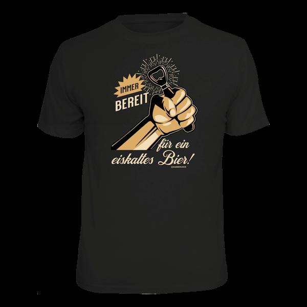 """T-Shirt """"Immer bereit"""""""
