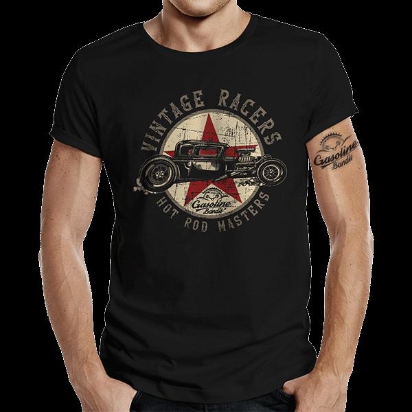 "T-Shirt ""Vintage Racers"" von Gasoline Bandit"