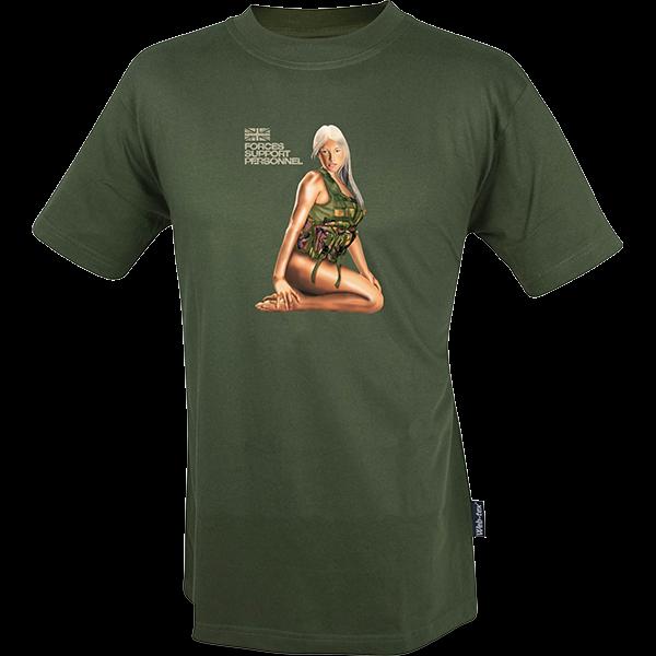 """T-Shirt """"Assault Girl"""" (Größe M)"""