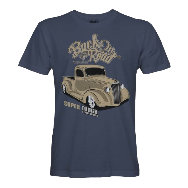 """T-Shirt """"Back On The Road"""""""
