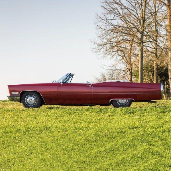 Cadillac de Ville Cabrio mieten