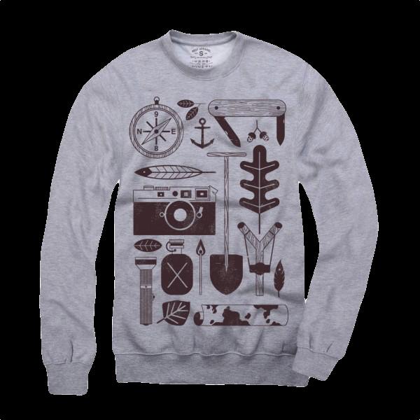 """Sweatshirt """"Adventure"""""""